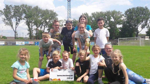Sportowy Dzień Dziecka w Publicznej Katolickiej Szkole Podstawowej